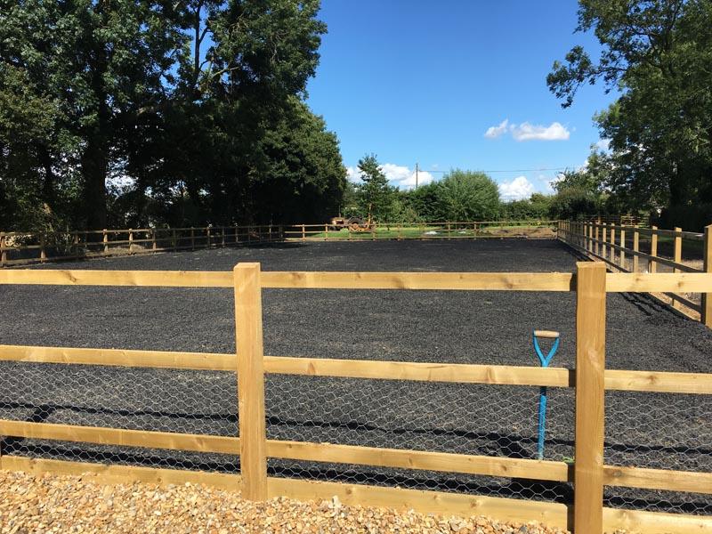 Equestrian Construction Services Horse Menage